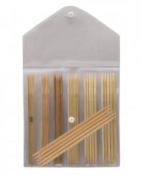 bamboo Nadelspiel Maß: 2-5mm/15cm Set