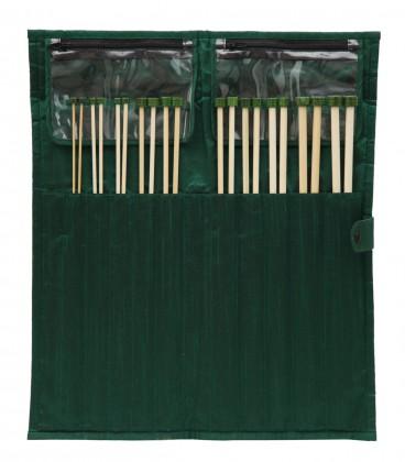 bamboo Jackenstricknadeln Maß: 3-10mm/30cm Set