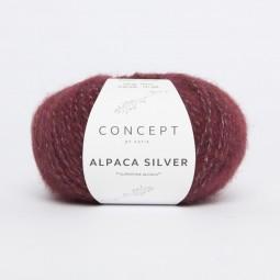 ALPACA SILVER - CONCEPT - BURDEOS/ PLATA (259)
