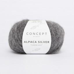 ALPACA SILVER - CONCEPT - GRIS OSCURO/ PLATA (256)