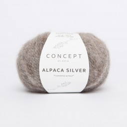 ALPACA SILVER - CONCEPT - MARRÓN/ PLATA (257)