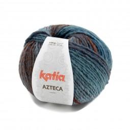 AZTECA - AZUL/ TEJA/ MARRONES (7872)