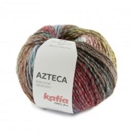 AZTECA - CREMA/ VERDE/ ROJO (7883)