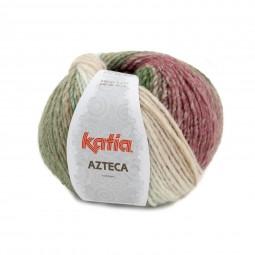 AZTECA - CRUDO/ VERDE/ ROSA/ MARRON (7875)