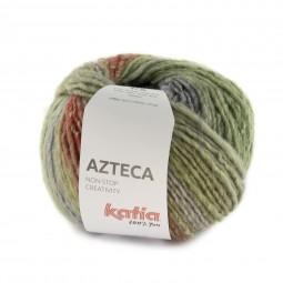 AZTECA - VERDES/ VIOLETAS (7881)