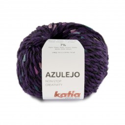 AZULEJO - LILA/ PETRÓLEO/ ROSAS (401)