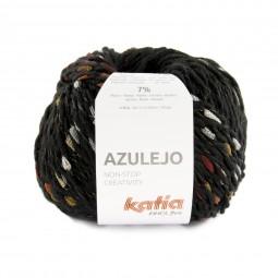 AZULEJO - NEGRO/ BEIGES/ NARANJA (402)