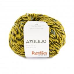 AZULEJO - OCRE/ PETRÓLEO/ CAMELS (405)