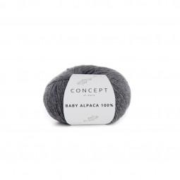 BABY ALPACA 100% - CONCEPT - GRIS MEDIO (504)