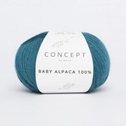 BABY ALPACA 100% - CONCEPT - PETRÓLEO (515)