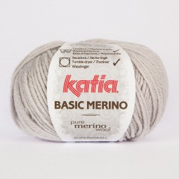 BASIC MERINO - GRIS CLARO (38)