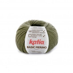 BASIC MERINO - KAKI CLARO (70)