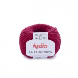 COTTON 100% - GRANATE (54)