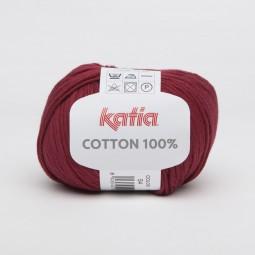 COTTON 100% - GRANATE (54)