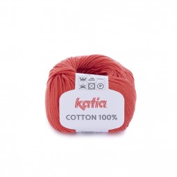 COTTON 100% - NARANJA QUEMADA (43)