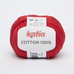COTTON 100% - ROJO INTENSO (53)