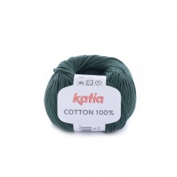 COTTON 100% - VERDE BOTELLA (58)