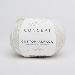 COTTON-ALPACA - CONCEPT - BLANCO (80)