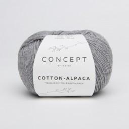 COTTON-ALPACA - CONCEPT - GRIS MELANGE (84)