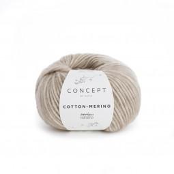 COTTON-MERINO - CONCEPT - BEIGE/ VISÓN (104)