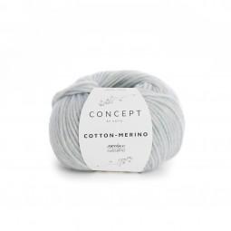 COTTON-MERINO - CONCEPT - CELESTE (127)