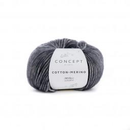 COTTON-MERINO - CONCEPT - GRIS OSCURO (107)