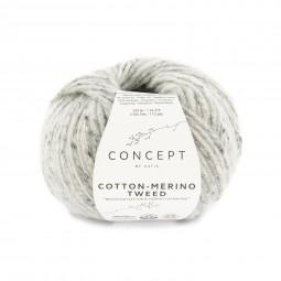 COTTON-MERINO TWEED - CONCEPT - GRIS CLARO (506)