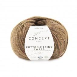 COTTON-MERINO TWEED - CONCEPT - MARRONES (505)