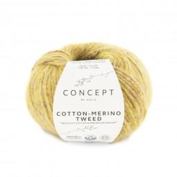 COTTON-MERINO TWEED - CONCEPT - OCRES (507)