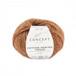 COTTON-MERINO TWEED - CONCEPT - TOSTADOS (501)