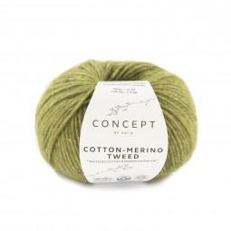 COTTON-MERINO TWEED - CONCEPT - VERDES (502)