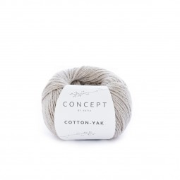 COTTON-YAK - CONCEPT - BEIGE NATURAL (100)