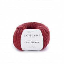 COTTON-YAK - CONCEPT - ROJIZO (105)