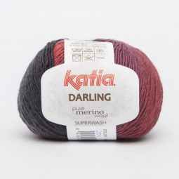 DARLING - ROJO/ GRANATE/ BURDEOS/ NEGRO (204)