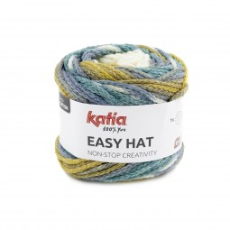EASY HAT - TURQUESA/ OCRE (502)