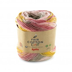 FAIR COTTON CRAFT - PIEDRA/ CORALES/ OCRE (601)