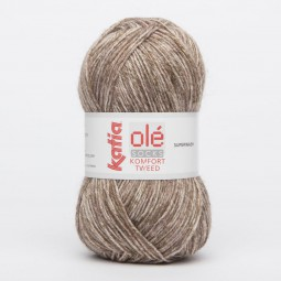 KOMFORT TWEED - MARRONES (65)