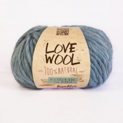 LOVE WOOL - AZUL CLARO (110)