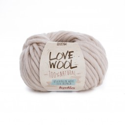 LOVE WOOL - BEIGE CLARO (101)