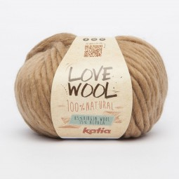 LOVE WOOL - CAMEL (120)