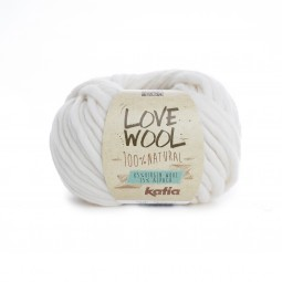 LOVE WOOL - CRUDO (100)