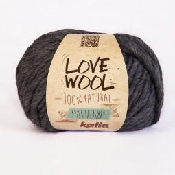 LOVE WOOL - GRIS (107)