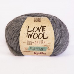 LOVE WOOL - GRIS CLARO (106)