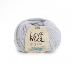 LOVE WOOL - GRIS PERLA (105)