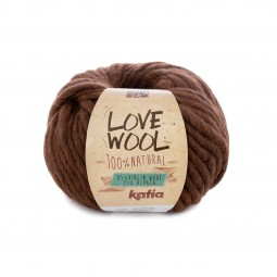 LOVE WOOL - MARRÓN (126)