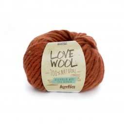 LOVE WOOL - NARANJA (114)