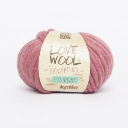 LOVE WOOL - ROSADO OSCURO (124)