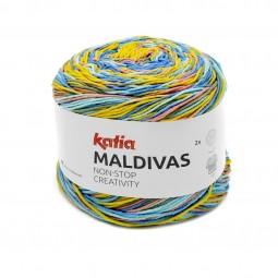 MALDIVAS - AZULES/ KAKI/ OCRE (81)