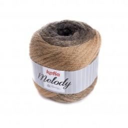 MELODY - NEGRO/ CAMEL (204)