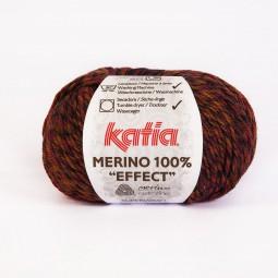 MERINO 100% EFFECT - NARANJA/ MARRÓN (602)